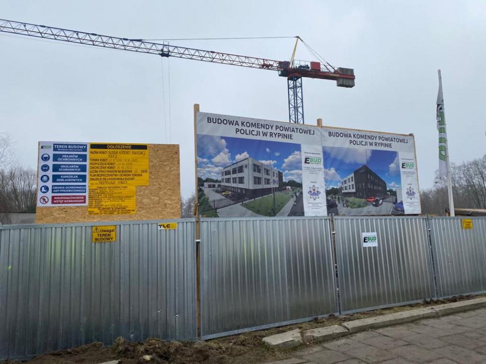 Trwa budowa nowej Komendy Powiatowej Policji w kujawsko-pomorskim [FOTO]