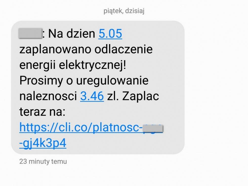 Uwaga na oszustów, którzy wysyłają sms-y i próbują wyłudzić pieniądze.…