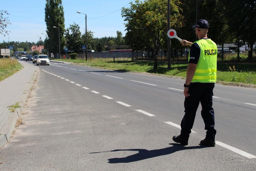 Wakacyjne kontrole drogowe w regionie