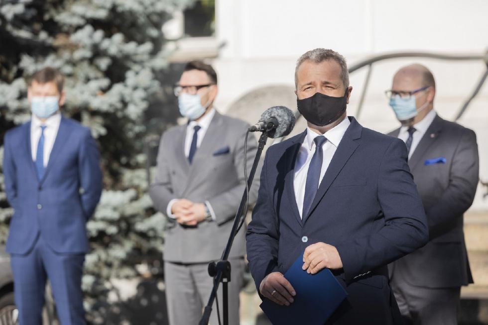 Wojewoda o aktualnej sytuacji epidemiologicznej w województwie kujawsko-pomorskim