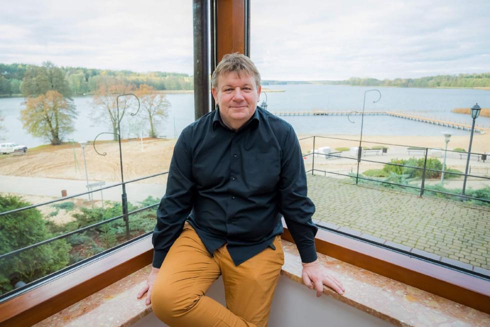 Wywiad z Panem Tomaszem Wachowiakiem właścicielem ośrodka terapii Forest