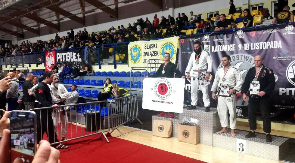 """XYZ """"Copacabana"""" z medalami  Mistrzostw Polski w Brazylijskim Jiu Jitsu"""