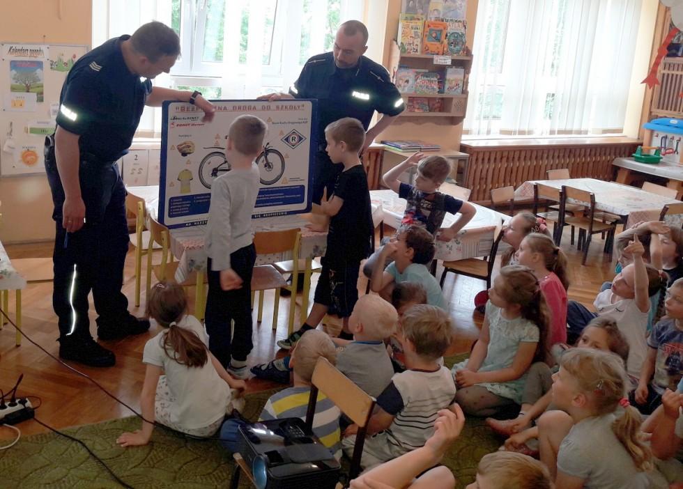Z przedszkolakami o bezpieczeństwie