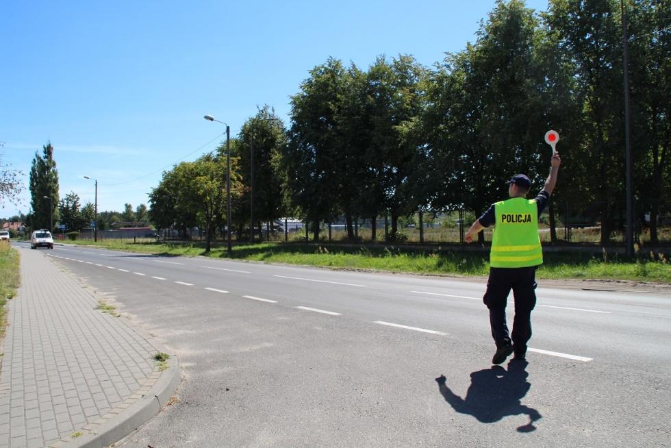 """Za nami akcja """"niechronieni uczestnicy ruchu drogowego"""" na drogach powiatu bydgoskiego"""