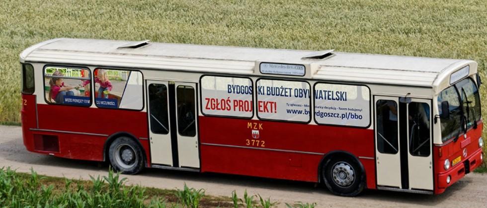 Zabytkowy autobus pojawi się na bydgoskich osiedlach. Ratusz uruchamia mobilny punkt informacji dot. BBO