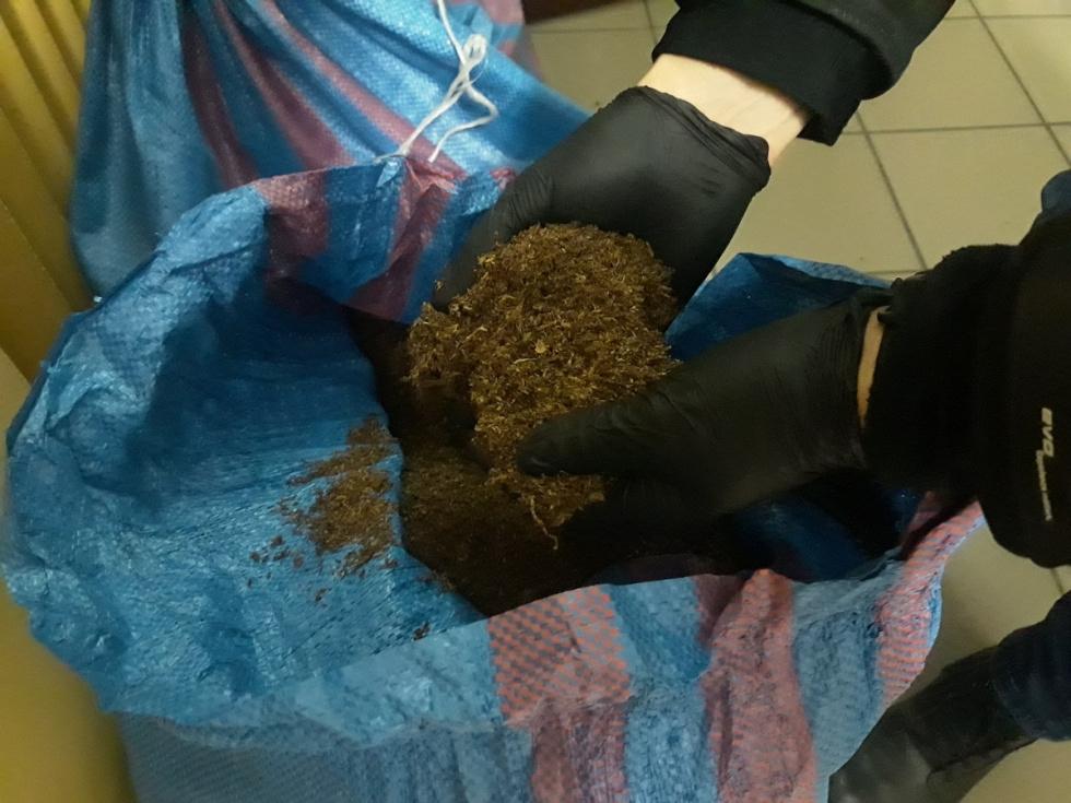 Zarekwirowano tytoń bez akcyzy za ponad 100 tyś. zł