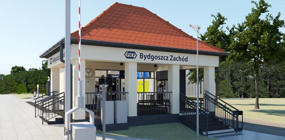 Zbliża się modernizacja dworca Bydgoszcz Zachód [FOTO]