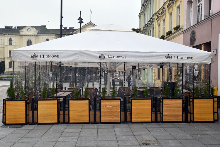 Zimowe ogródki na Starym Rynku już funkcjonują