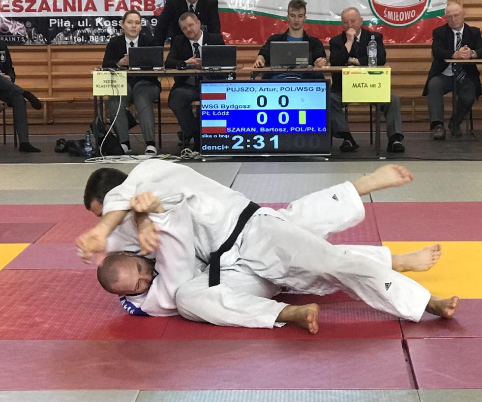 Złoto i brąz bydgoskich judoków/akademików