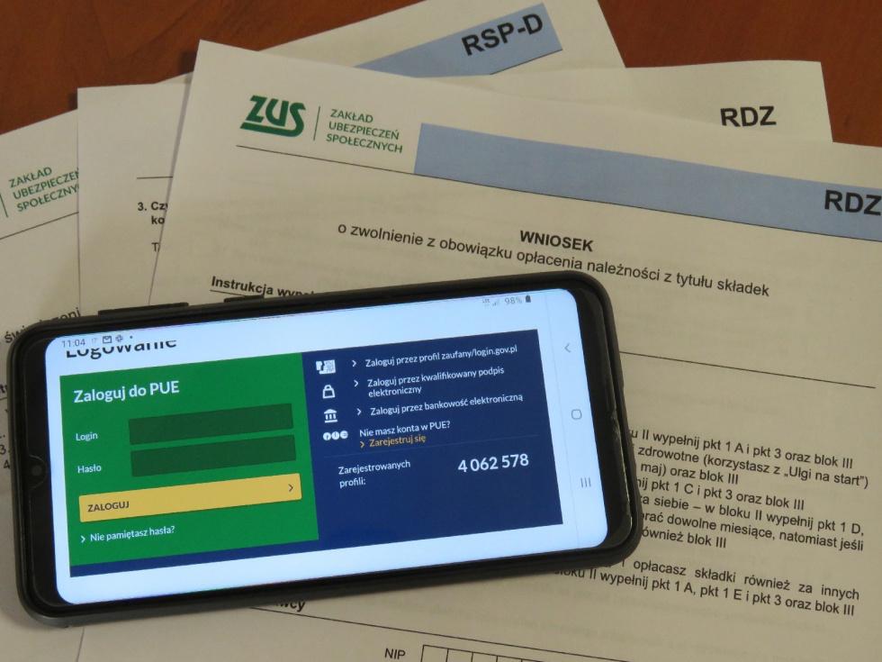 ZUS Bydgoszcz: Sprawdź swój wniosek o postojowe na PUE ZUS