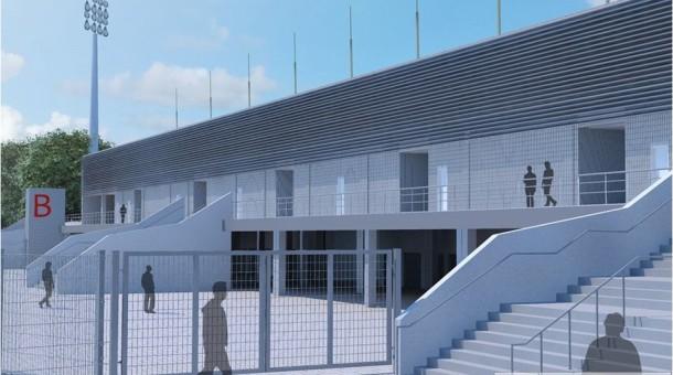 21,5 mln zł na przebudowę trybuny na Stadionie Polonii