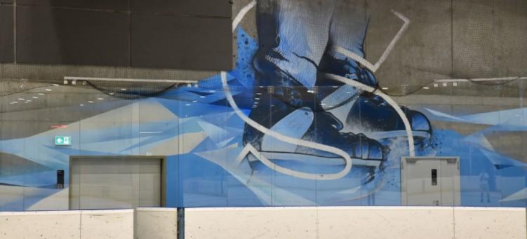 Efektowny mural w bydgoskim Torbydzie