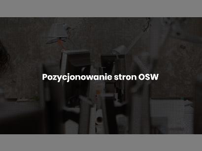 Pozycjonowanie stron OSW