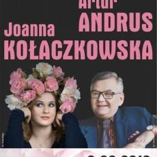 """J. Kołaczkowska i A.Andrus """"Zwłaszcza piosenka"""""""