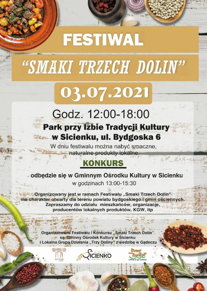 """Festiwal """"SMAKI TRZECH DOLIN"""""""