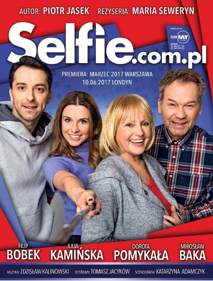 Komediowy spektakl Selfie.com.pl w Bydgoszczy