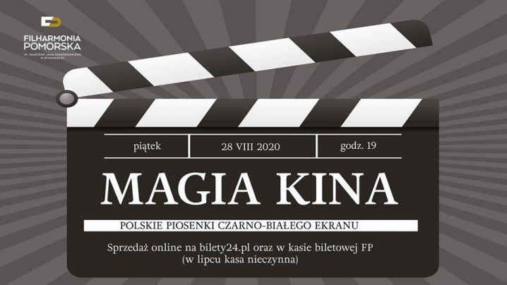 Magia Kina - polskie piosenki czarno-białego ekranu