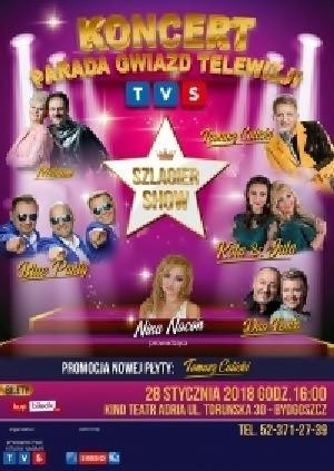 """Parada Gwiazd Telewizji TVS """"Szlagier Show"""""""