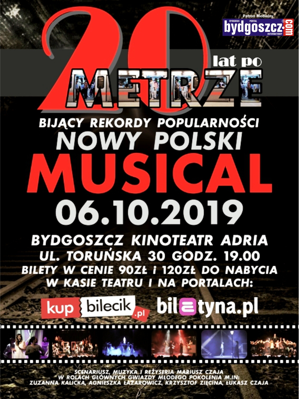 20 lat po Metrze – Musical