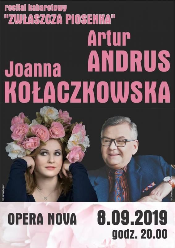 J. Kołaczkowska i A.Andrus