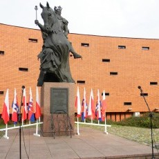 27.10.2016 - 10-lecie odsłonięcia Pomnika Króla Kazimierza Wielkiego