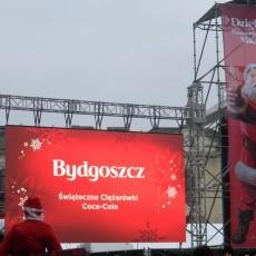 02.12.2017 - Ciężarówki Coca-Cola w Bydgoszczy